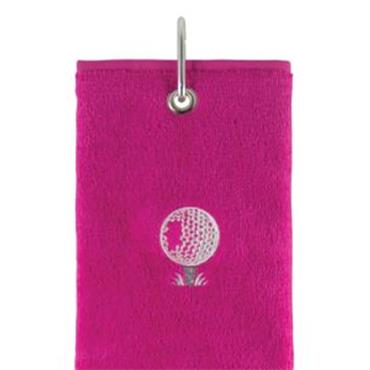 Surprizeshop Tri-Fold Towel  Pink