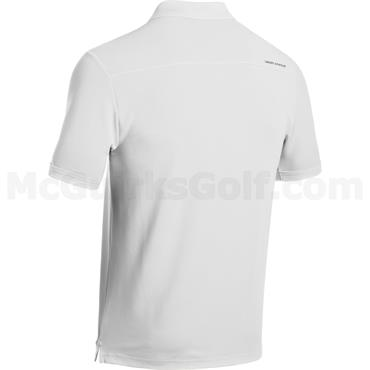 Under Armour Corporate Genbts Performance 2.0 Polo Shirt White