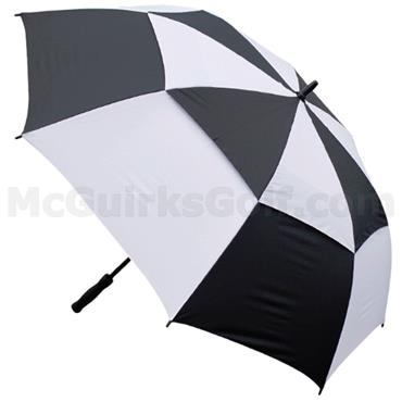 Masters Golf Gust Resist Umbrella Black - White