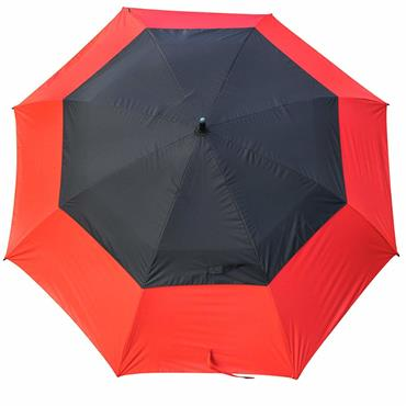 "Masters Golf TourDri GR 32"" UV Umbrella Poppy Red- Black"