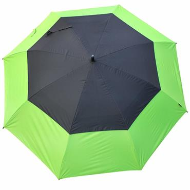 "Masters Golf TourDri GR 32"" UV Umbrella Lime - Black"