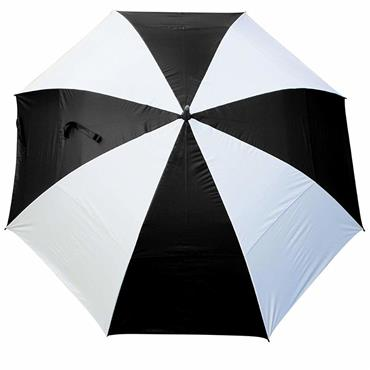"Masters Golf TourDri GR 32"" UV Umbrella  Black/White"