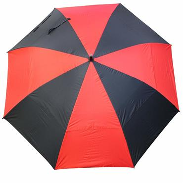 "Masters Golf TourDri GR 32"" UV Umbrella Black - Red"