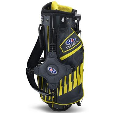 "U.S. Kids Junior 42"" Stand Bag  Grey Yellow"
