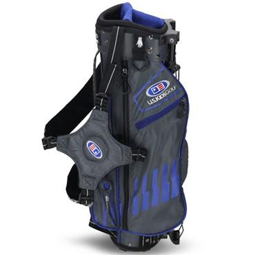 "U.S. Kids Junior 45"" Stand Bag  Grey - Blue"