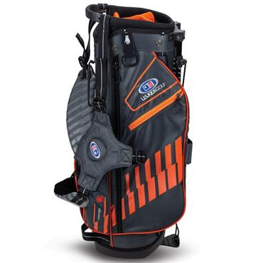 "U.S. Kids Junior 51"" Stand Bag  Grey Orange"
