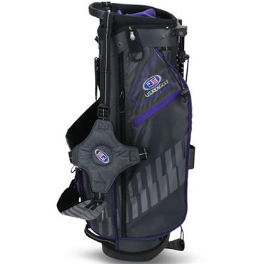 "U.S. Kids Junior 54"" Stand Bag  Grey Purple"