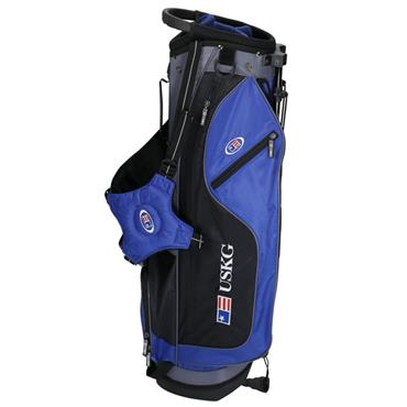 "U.S. Kids UL60 Stand Bag WT-10u 30.5"" Junior  Blue - Black - Grey"