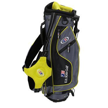 "U.S. Kids Junior 42"" UL42 Stand Bag  Grey - Yellow"