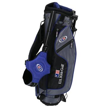 "U.S. Kids Junior 45"" UL45 Stand Bag  Grey - Blue"