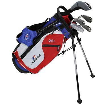 "U.S. Kids Junior 48"" 5-Club Ultralight Set Right Hand Red White Blue"