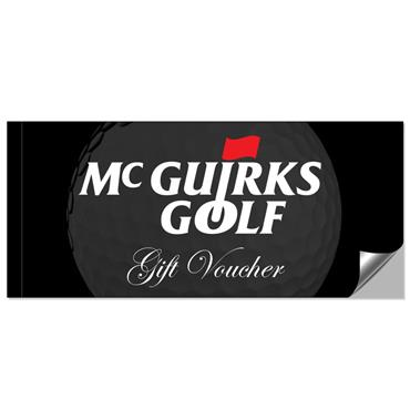 McGuirks Golf Standard Gift Voucher (Standard Tracked Shipping)