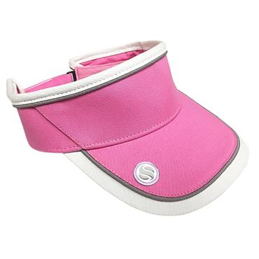 Surprizeshop Velcro Visor with ball marker  Pink