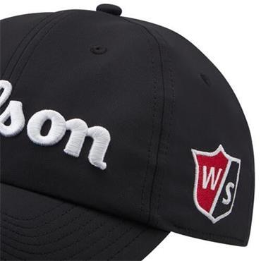 Wilson Pro Tour Hat  BLACKWHITE
