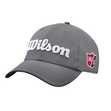 Wilson Pro Tour Hat  Grey White