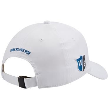 Wilson Pro Tour Hat  WHITE NAVY
