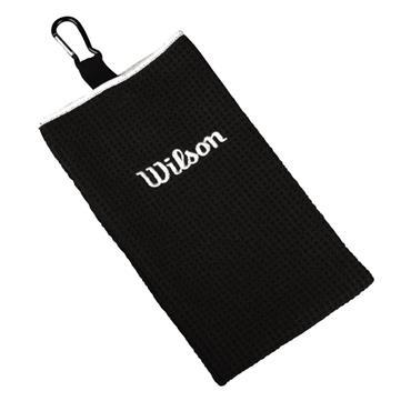 Wilson Tri-Fold Towel  Black