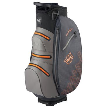 Wilson Dry Tech II Cart Bag Black - Grey - Orange