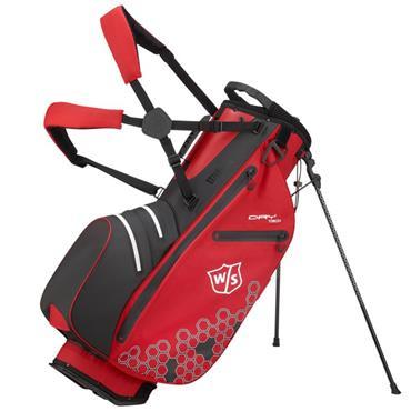 Wilson Dry Tech II Carry Bag  Red/Black/White