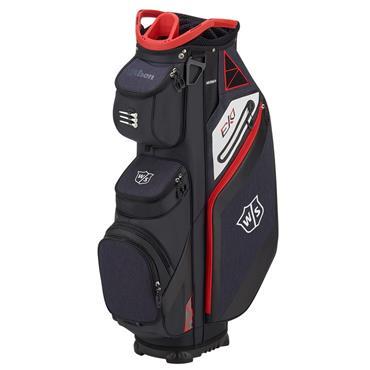 Wilson EXO Cart Bag  Black/Red/White