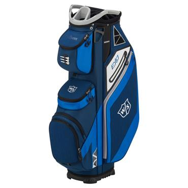 Wilson EXO Cart Bag  Blue/Royal/Grey