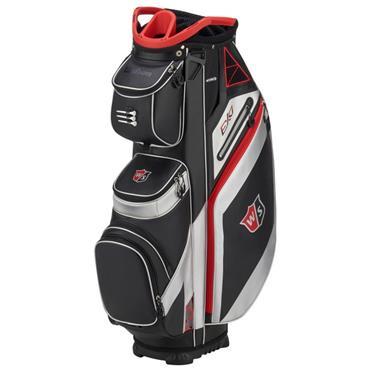 Wilson EXO Cart Bag  Black/Silver/Red