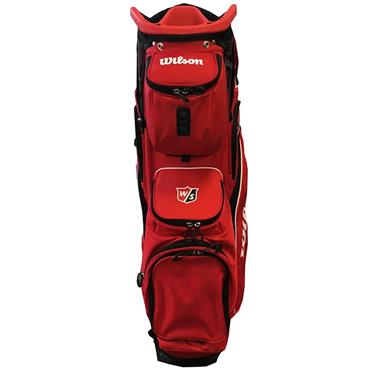 Wilson EXO Cart Bag  Red