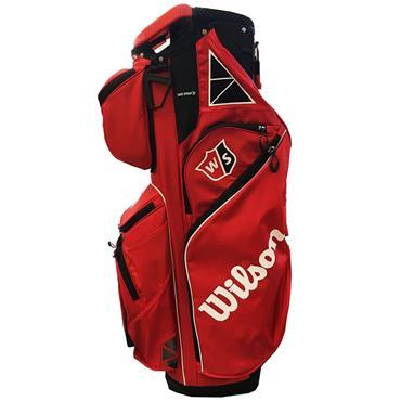 Wilson EXO Cart Bag  Red