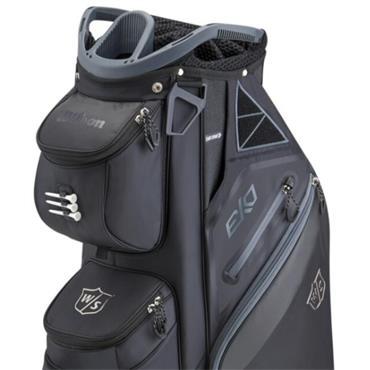 Wilson EXO Cart Bag  Black