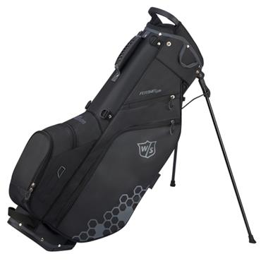 Wilson Feather Carry Bag  Black-Grey
