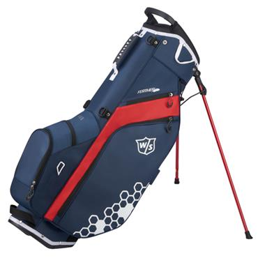 Wilson Feather Carry Bag  Navy Red White