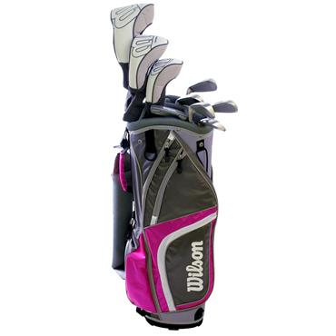 Wilson Ladies Reflex 10-Piece Package Set  Ladies Right Hand