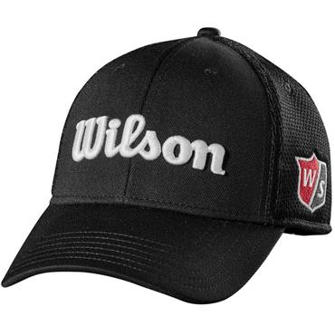 Wilson Tour Mesh Cap  Black