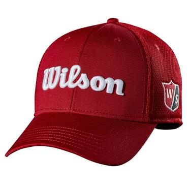 Wilson Tour Mesh Cap  Red