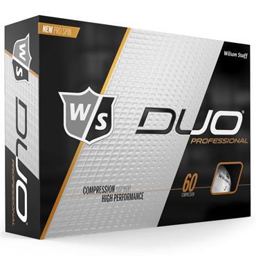 Wilson Duo Pro Golf Balls Dozen  White