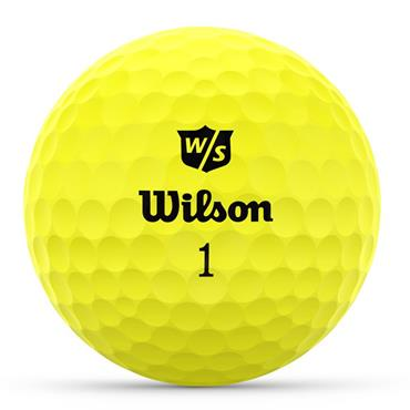Wilson Duo Optix 12 Ball  Yellow