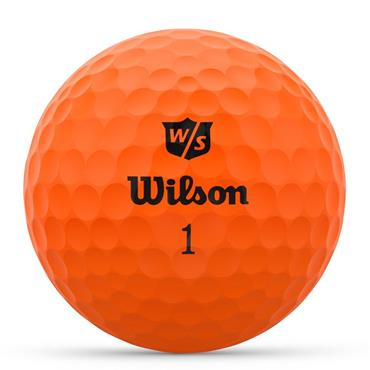 Wilson Duo Optix 12 Ball  Orange