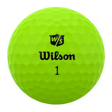 Wilson Duo Optix 12 Ball  Green