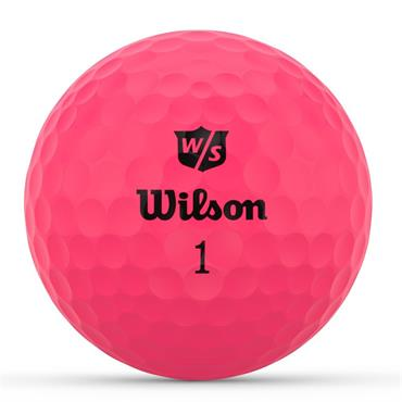 Wilson Duo Optix 12 Ball  Pink