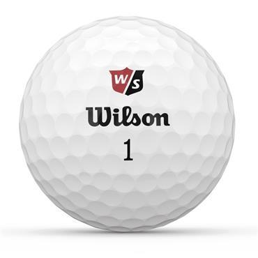 Wilson Duo Soft+ Golf Balls  White