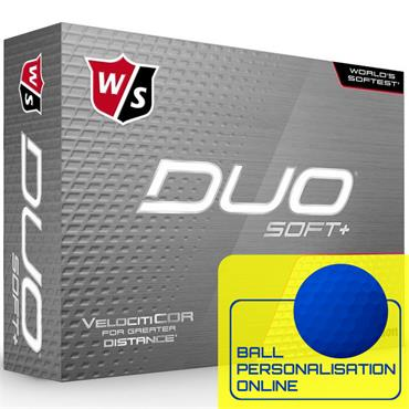 Wilson Duo Soft+ Golf Balls  White