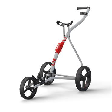 Wishbone One 3 Wheel Cart  White/Red