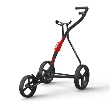 Wishbone One 3 Wheel Cart  Charcoal Red