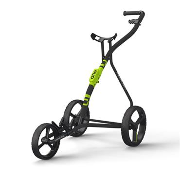 Wishbone One 3 Wheel Cart  Charcoal Lime