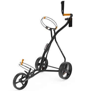 Wishbone Zero 3 Wheel Cart  Black Orange