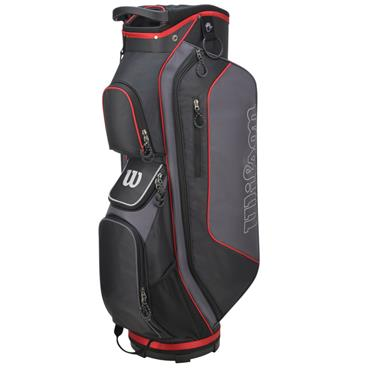 Wilson Prostaff Cart Bag  Black/Silver