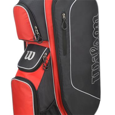 Wilson Prostaff Cart Bag  Red/Black