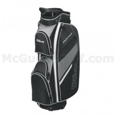 Wilson Prostaff Cart Bag  Black-Grey