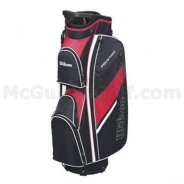 Wilson Prostaff Cart Bag  Black/Red