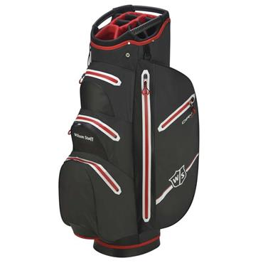 Wilson Dry Tech Cart Bag Black - Red